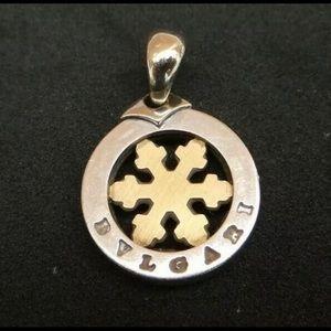Authentic Bvlgari Tondo Snowflake Pendant
